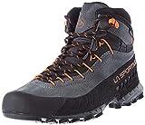La Sportiva TX4 Mid GTX, Zapatillas de Senderismo Unisex Adulto, Carbon 47 Flame, 43.5 EU