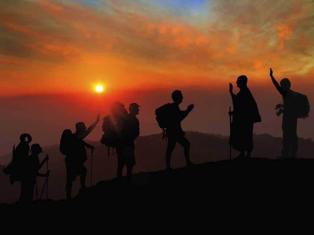 trekking, libertad, fraternidad