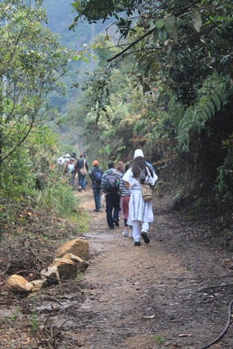 Senderismo Bogotá - Senderismo Quebrada de las Delicias- Senderismo Colombia