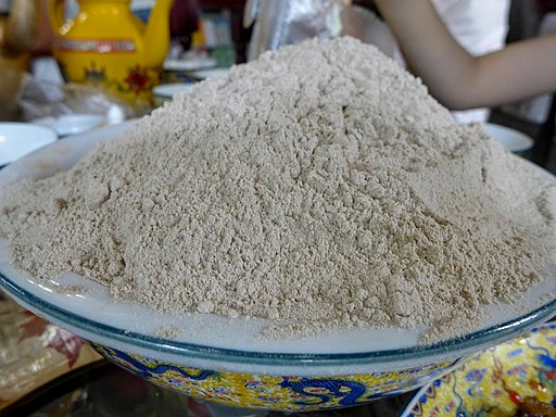 Harina de maíz, trigo y soya para campa, comida para trekking