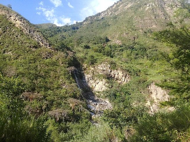 Trekking en Colombia -  Cascada_la_Chorrera