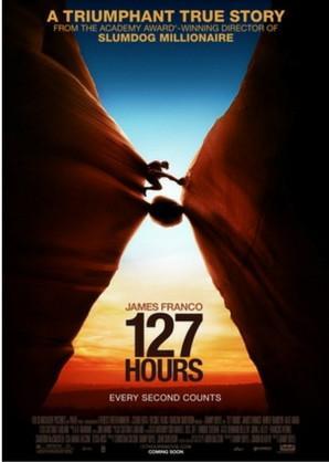 127 hours Las mejores películas de Trekking y Senderismo