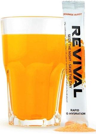 Bebida de Rehidratación para trekking