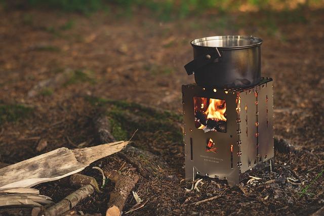 Hervir agua para camping
