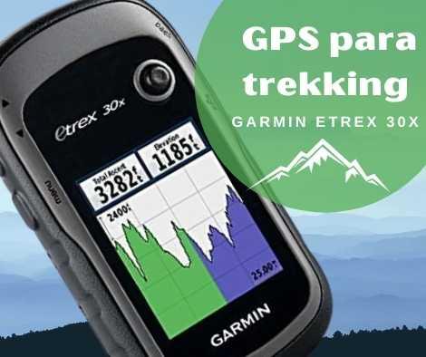 El mejor GPS para trekking - Garmin eTrex 30x