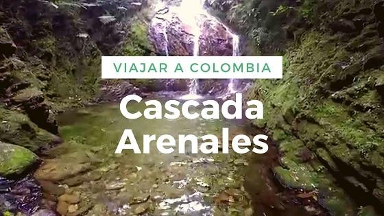 Viajar a Colombia-Cascada Arenales-Trekking en colombia
