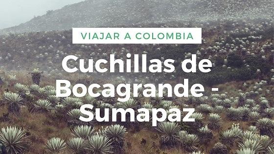 Viajar a Colombia-Cuchillas de Bocagrande-Sumapaz-Trekking en colombia