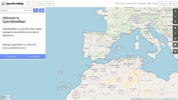 Openstreetmap mapas gratuiros para gps garmin