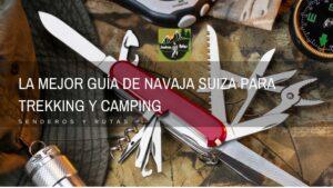 navaja suiza - camping y senderismo