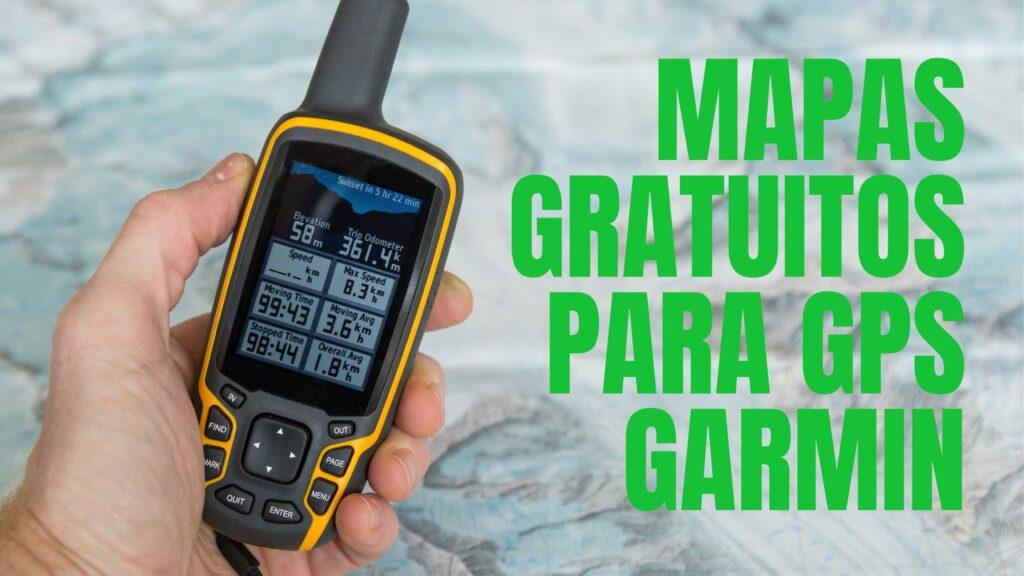 Mapas gratuitos para GPS Garmin