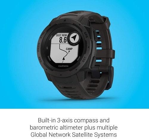 Reloj de montaña GPS-Garmin Instinct