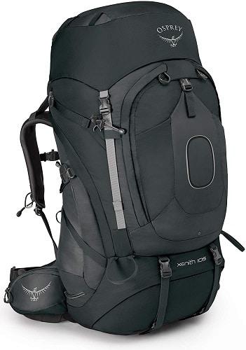 Mochila de montañismo Osprey Xenith 105 litros -  mochilas de viaje