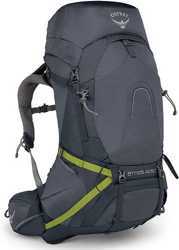 Mochilas para senderismo y mochileros Osprey Atmos AG - mochilas en oferta