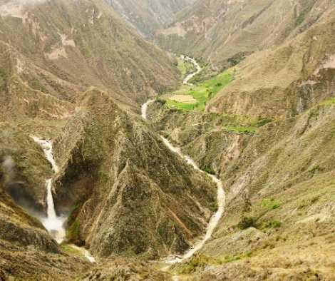 Ruta al Cañón de Cotahuasi - Arequipa